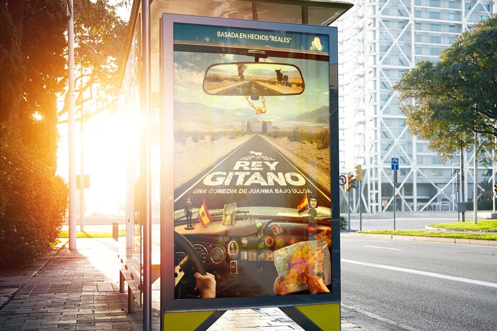 Poster Rey Gitano